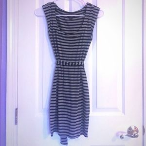 Black and gray dress Guess